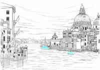 泡在水里的威尼斯