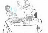 餐厅里的教养